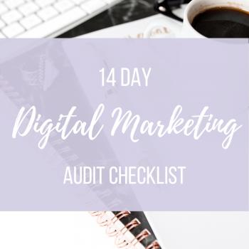 14 day digital marketing audit checklist