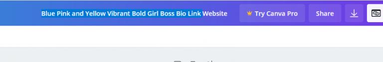 Canva Link in bio hack step 4.5   Miller Digital