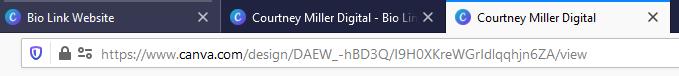 Canva Link in bio hack   Miller Digital